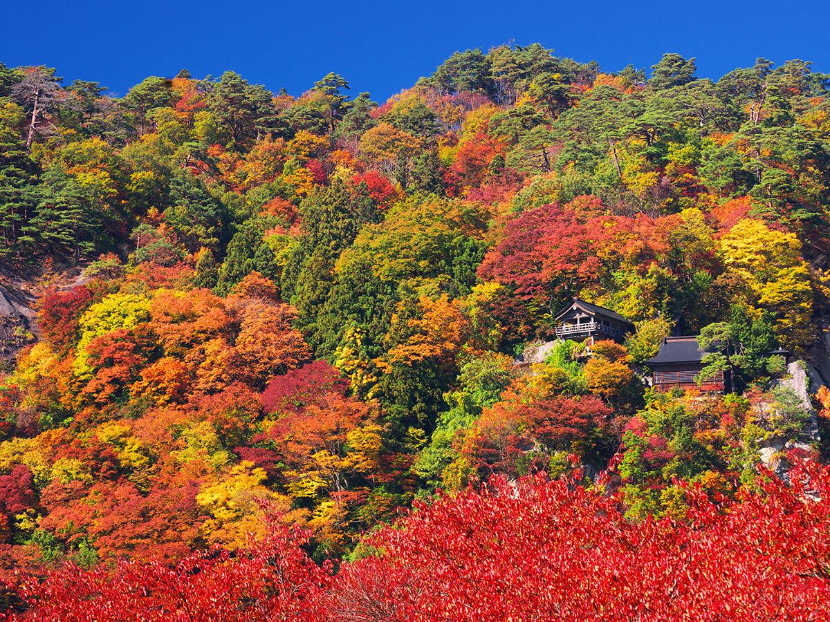 Yamadera(Risshaku-ji Temple)