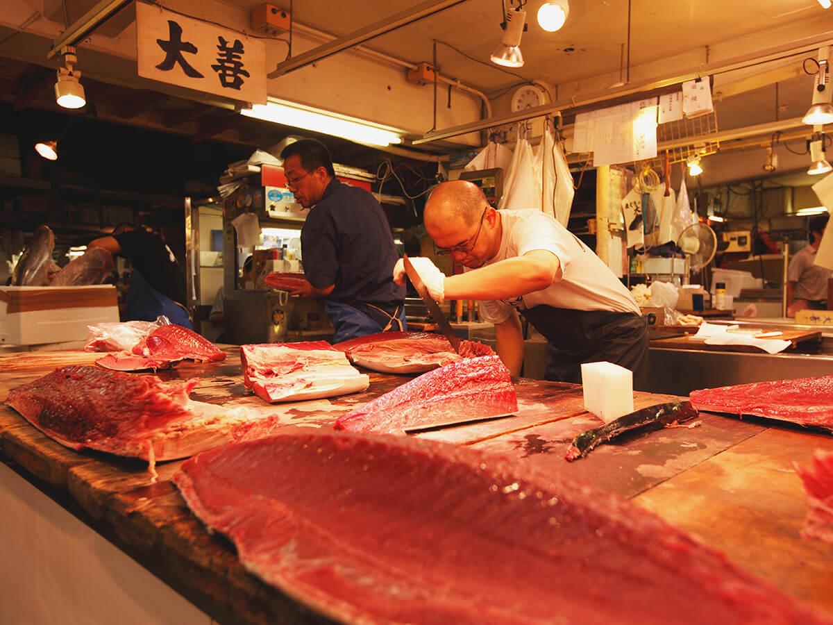 Tsukiji Outer Market (Tsukiji Kanno)