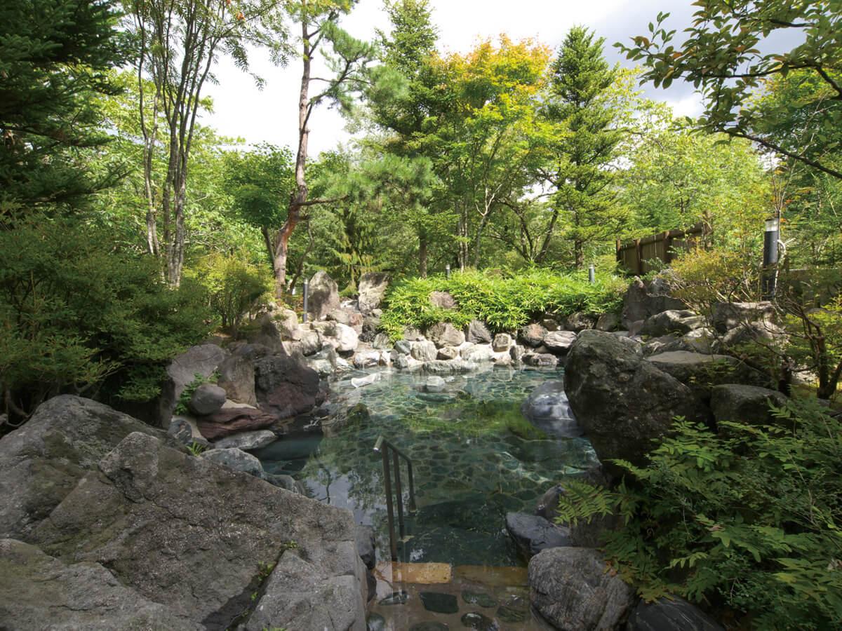 Urabandai, Goshiki Onsen Hot Spring