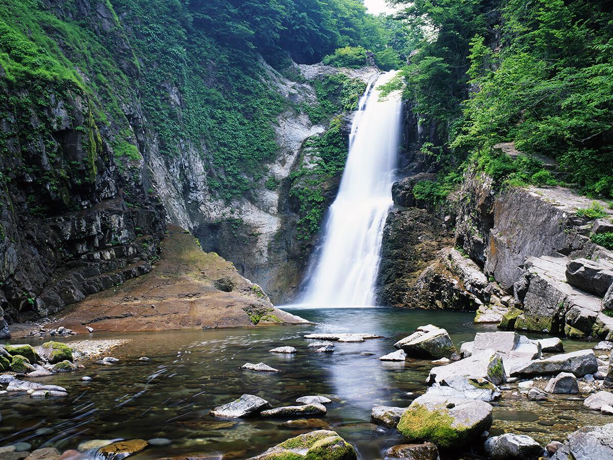 Akiu Onsenkyo Hot Springs (Akiu Otaki Falls, Rairai-kyo Gorge)_2