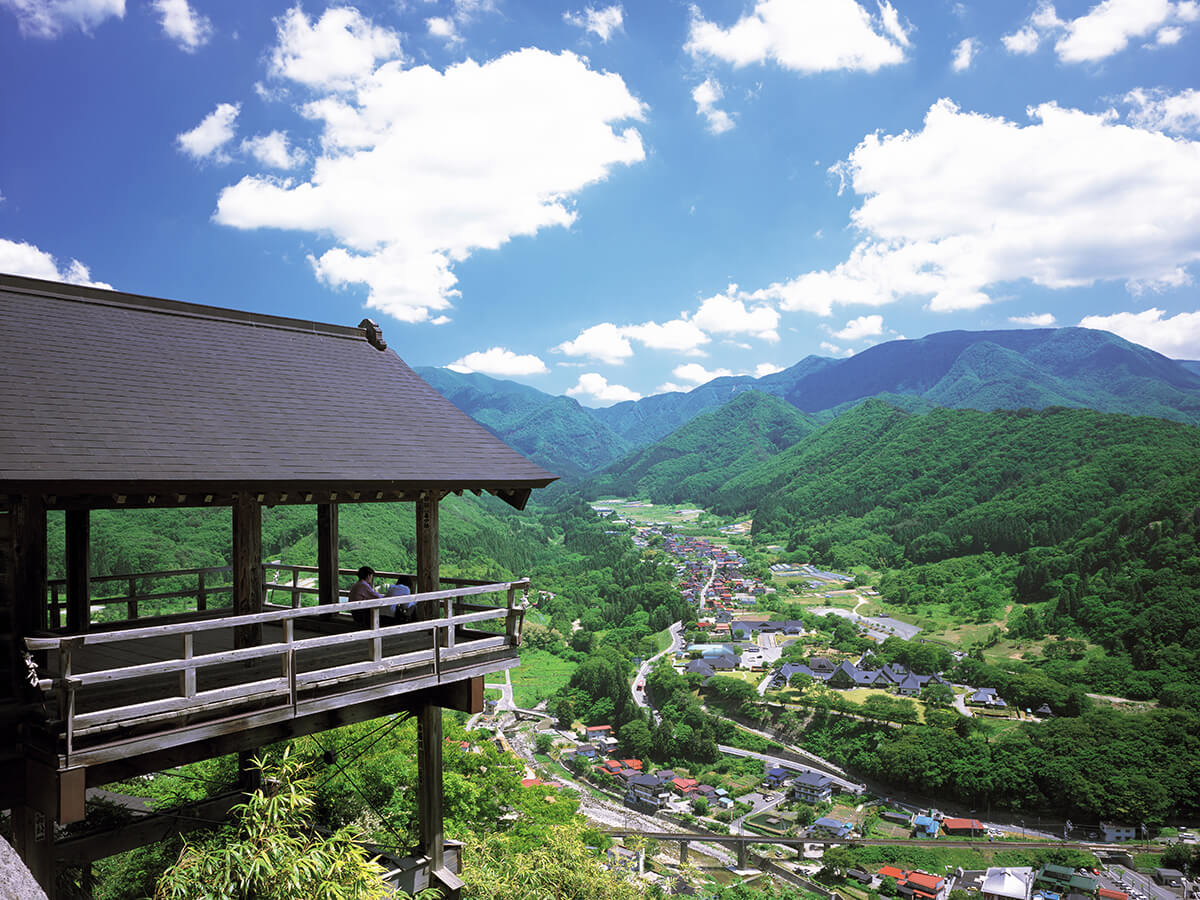 Yamadera(Risshaku-ji Temple)_1