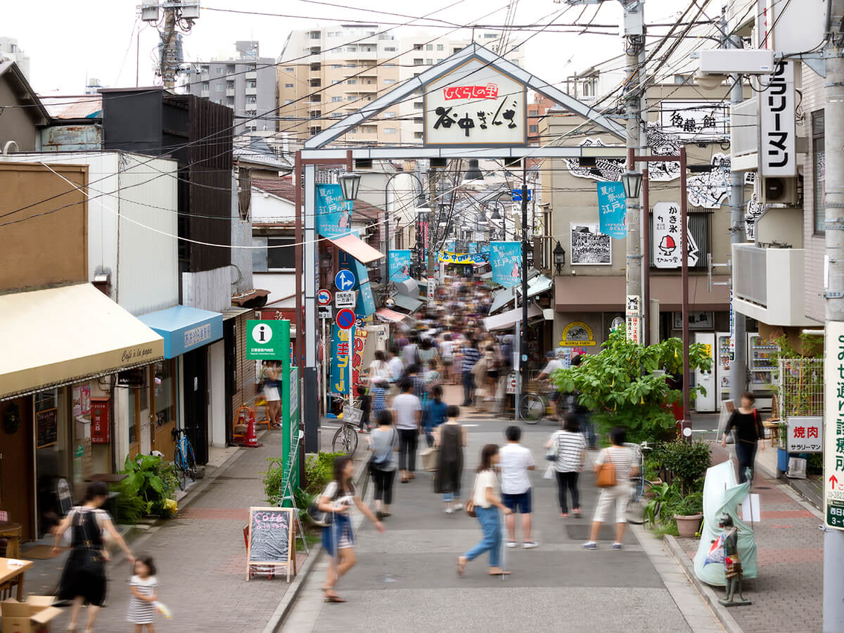 YanakaGinza(Shopping Street)/Nezu-jinja Shrine_1