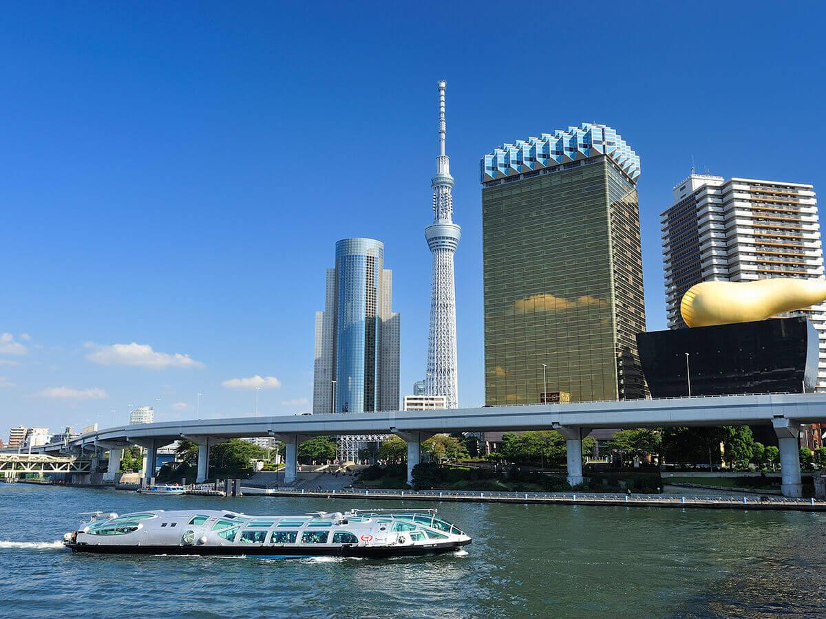 Croisières à Tokyo, ligne Sumidagawa_2