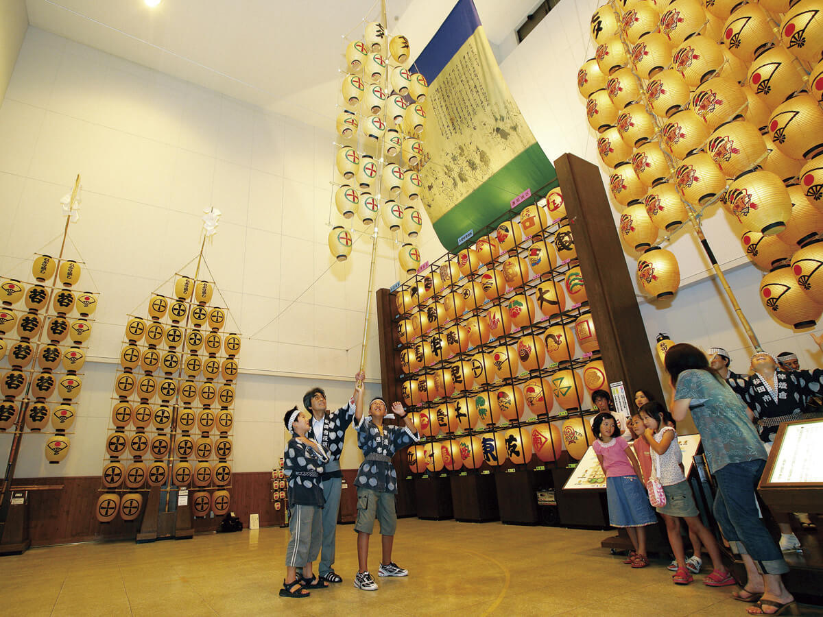 Musée des arts traditionnels de la ville d'Akita (Neburi Nagashi Kan Hall)_1