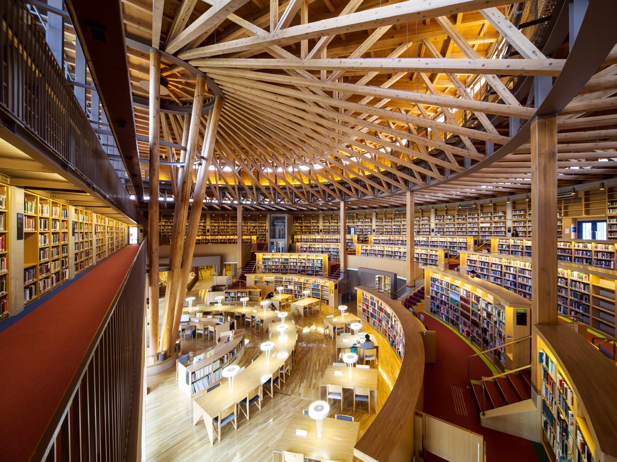 Nakajima Library at Akita International University_2