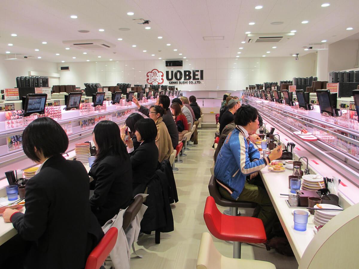 High-tech kaiten-sushi restaurant_1
