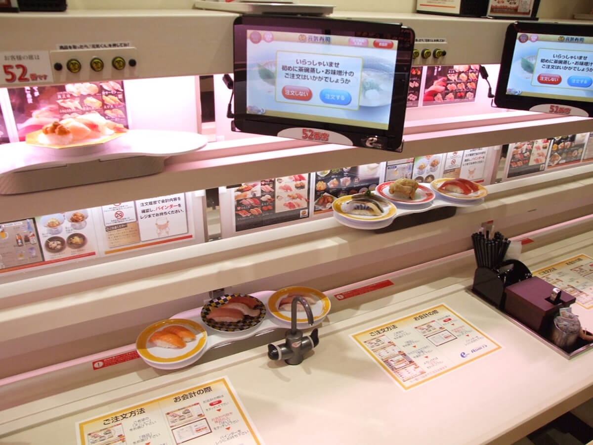 High-tech kaiten-sushi restaurant_2