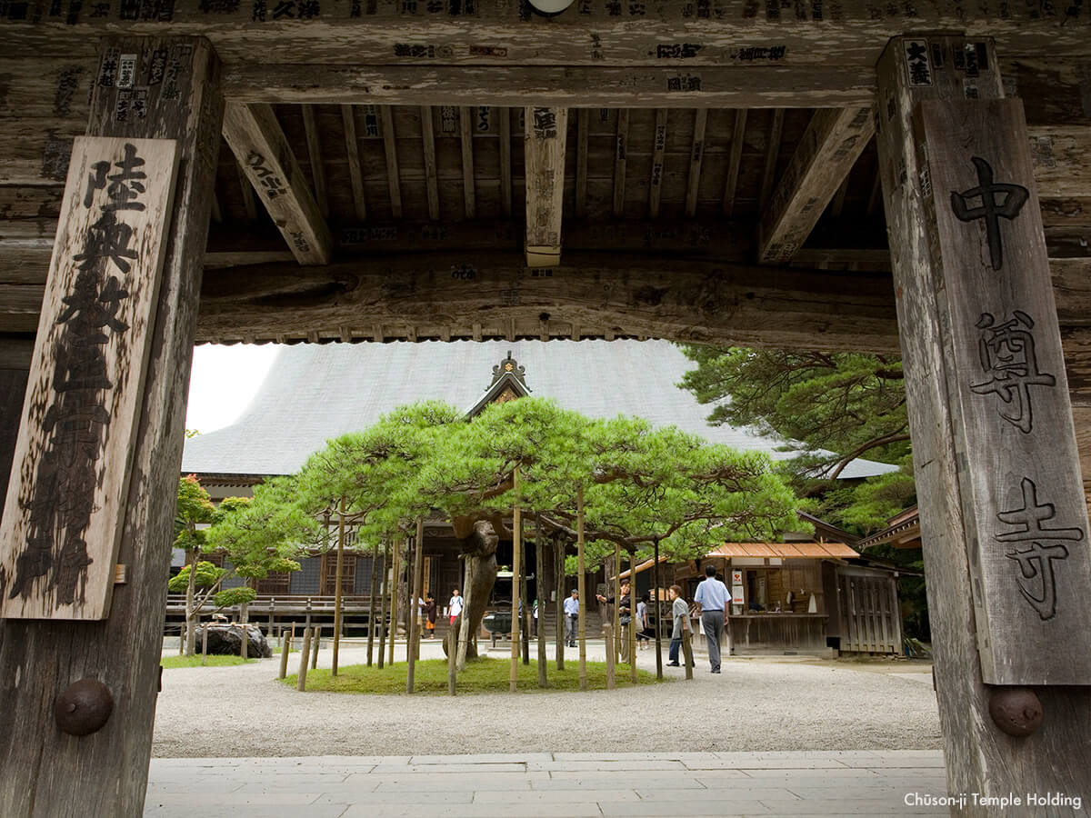 Temple Chuson-ji_2