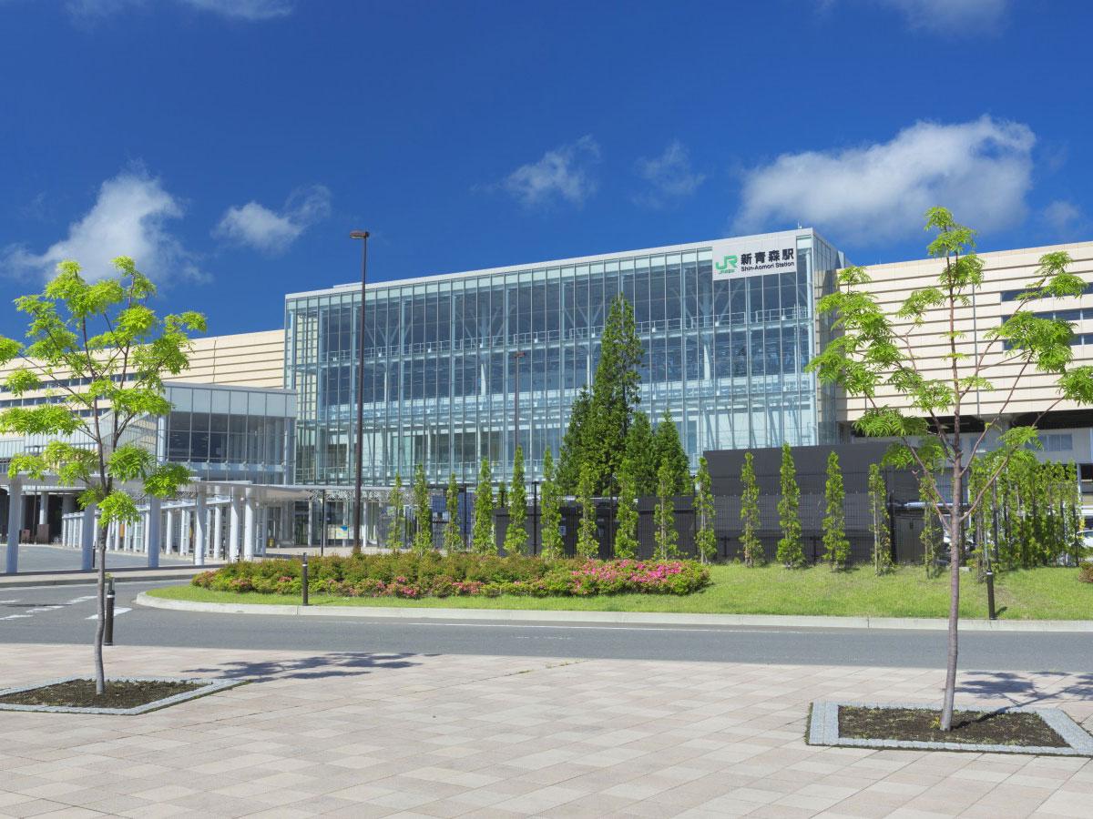 Estación de Shin Aomori_1