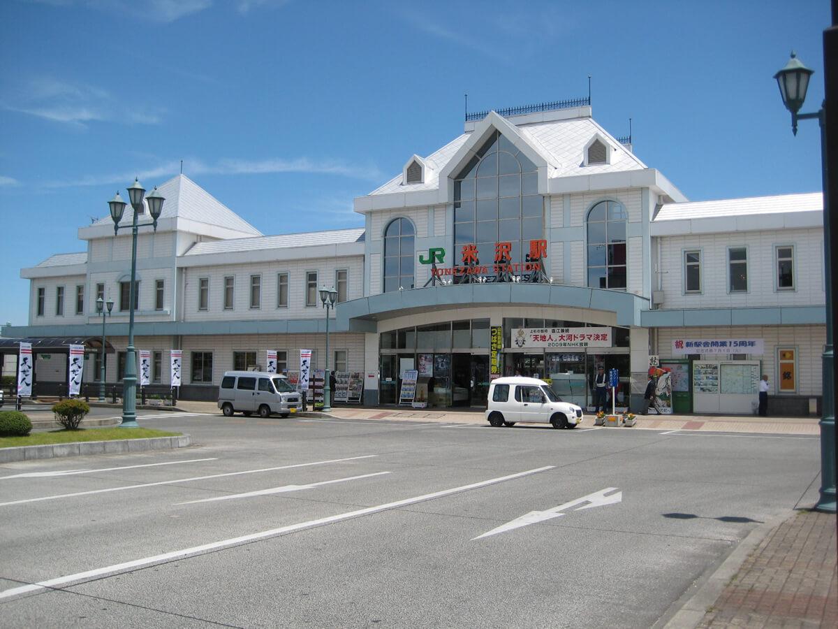 Yonezawa Station_1