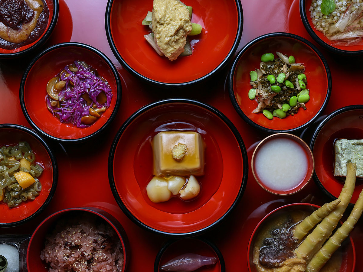 Japanese Shojin Ryori (Vegetarian Dishes)_1