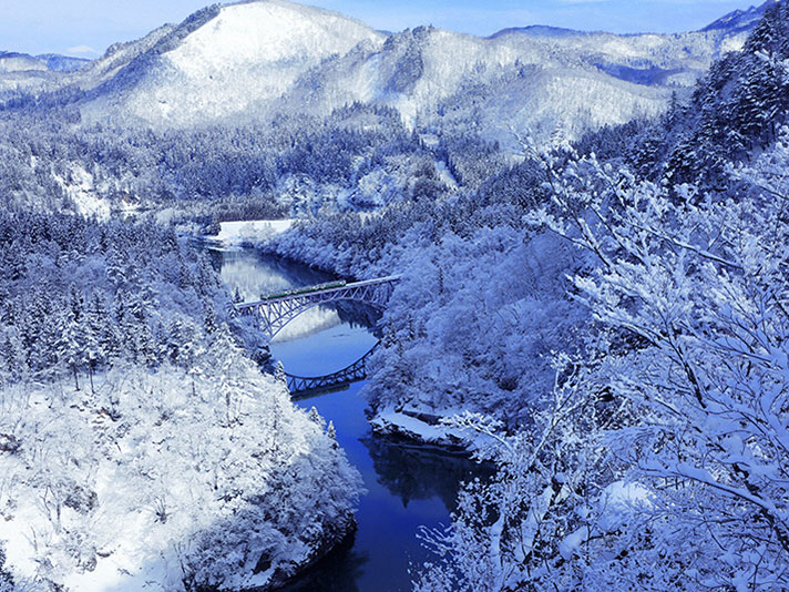 No.1 Tadami Bridge View Spot_1