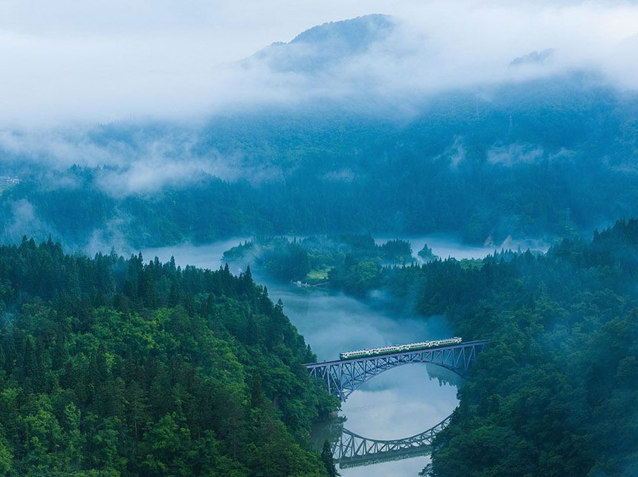 No.1 Tadami Bridge View Spot_3