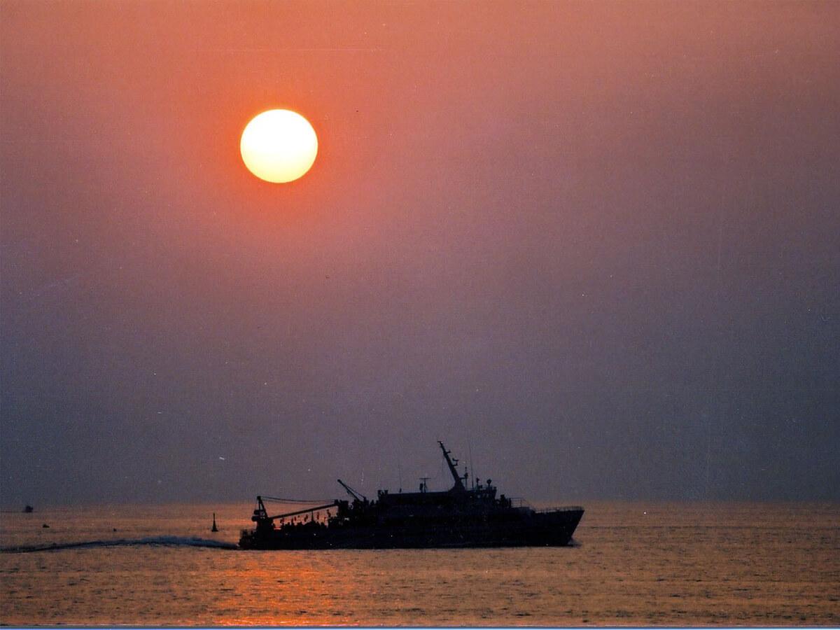 Crociera romantica al tramonto dal porto di Sakata_1