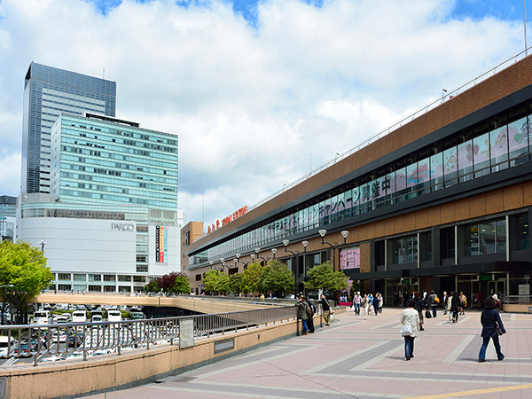 9:51 Sendai Station
