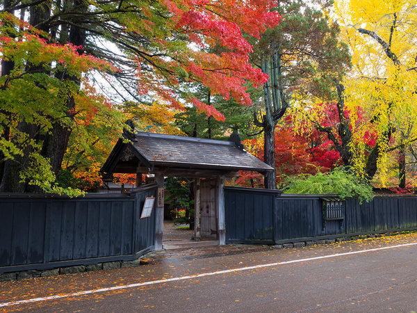 Kakunodate Bukeyashiki-dori Street