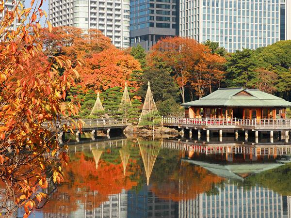 Hama-Rikyu-Gärten