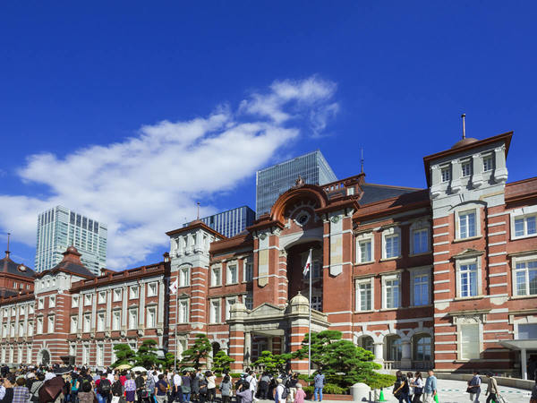 9:08 Tokyo Station