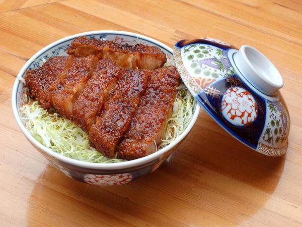 Aizu's sauce-katsudon