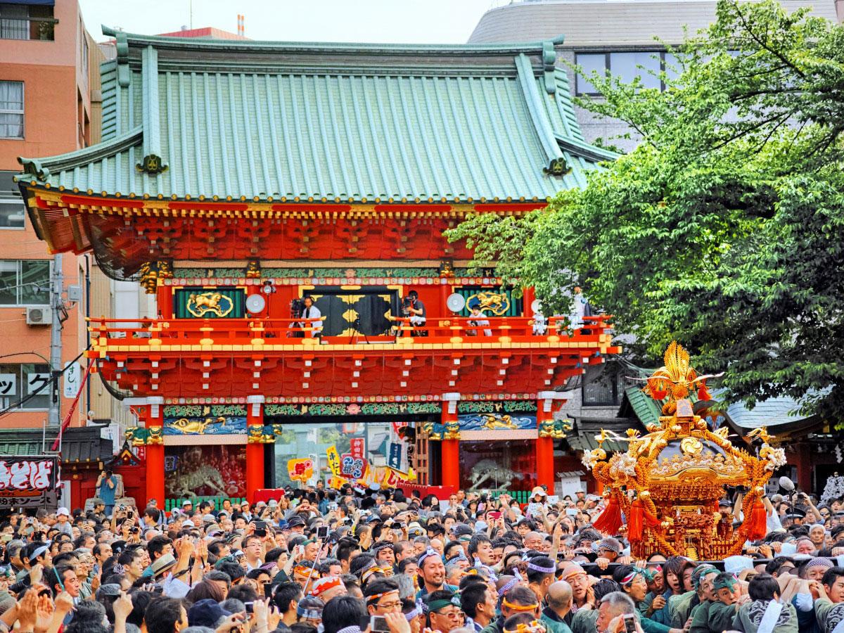 Sanctuaire Kanda Myojin