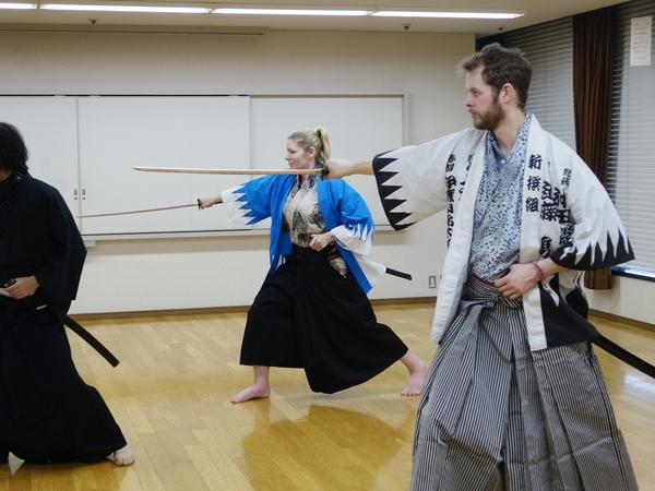Samurai-Training Tokyo