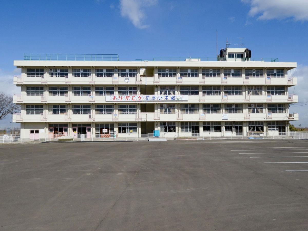 Ruins of the Great<br> East Japan Earthquake: <br>Sendai Arahama Elementary <br>School_1