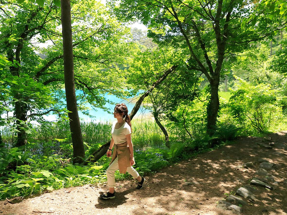 Les étangs de Goshiki-numa_2