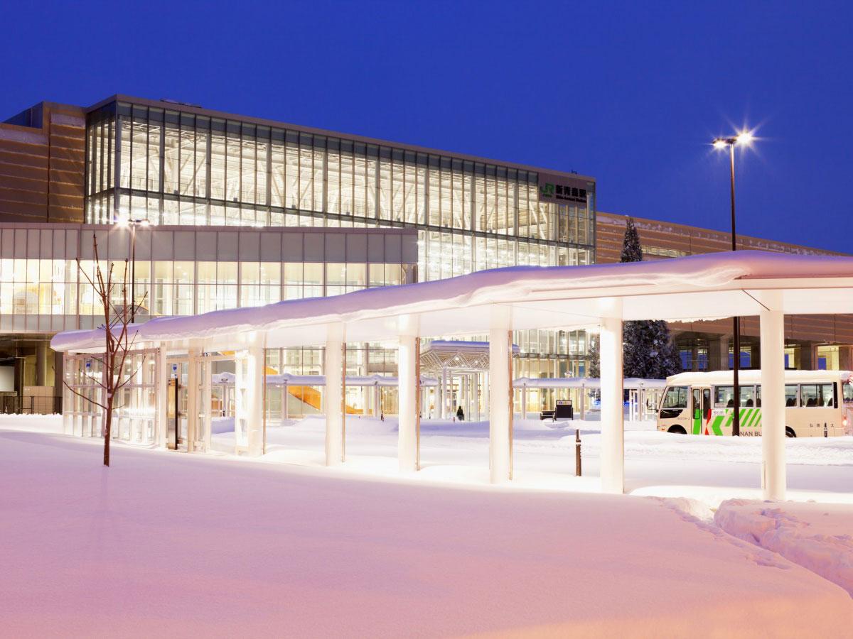 Estación de Shin Aomori_3