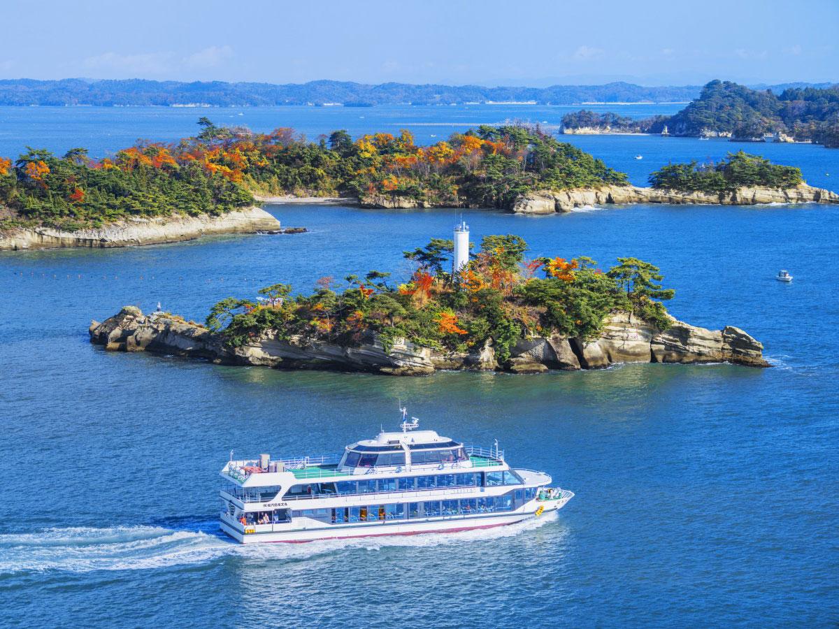 Battello turistico di Matsushima_4